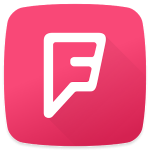 Foursquare City Guide logo